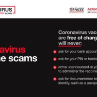 Read more about Covid-19 Vaccine Scam Information